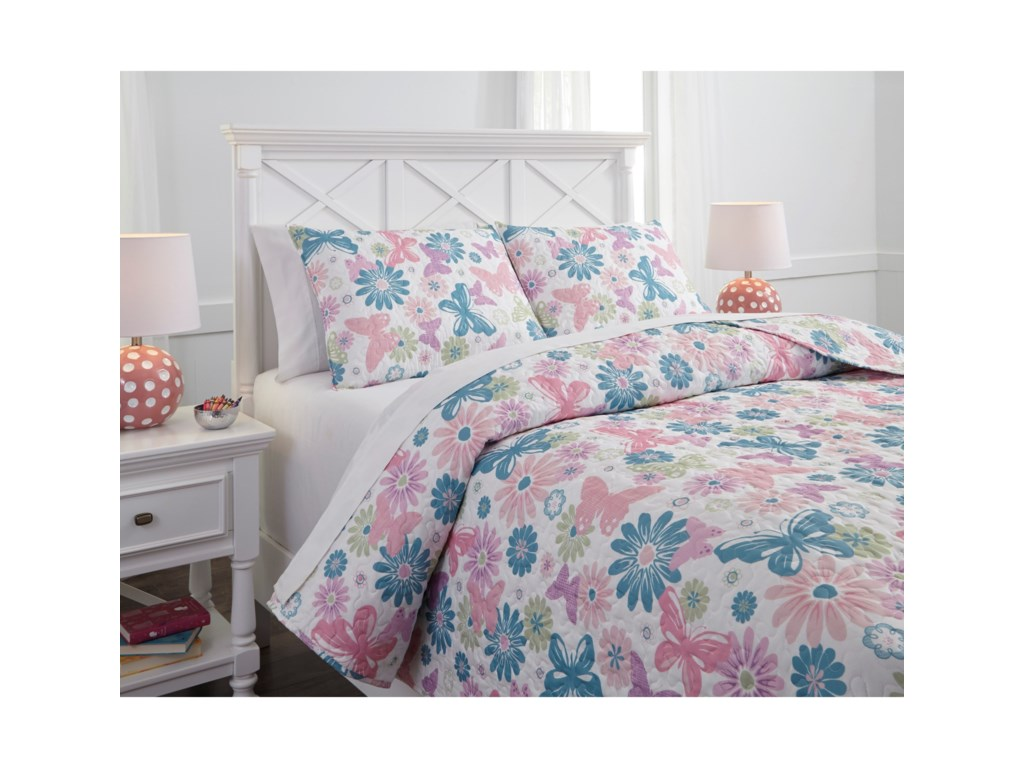 Signature Design by Ashley Bedding SetsFull Jobeth Quilt Set