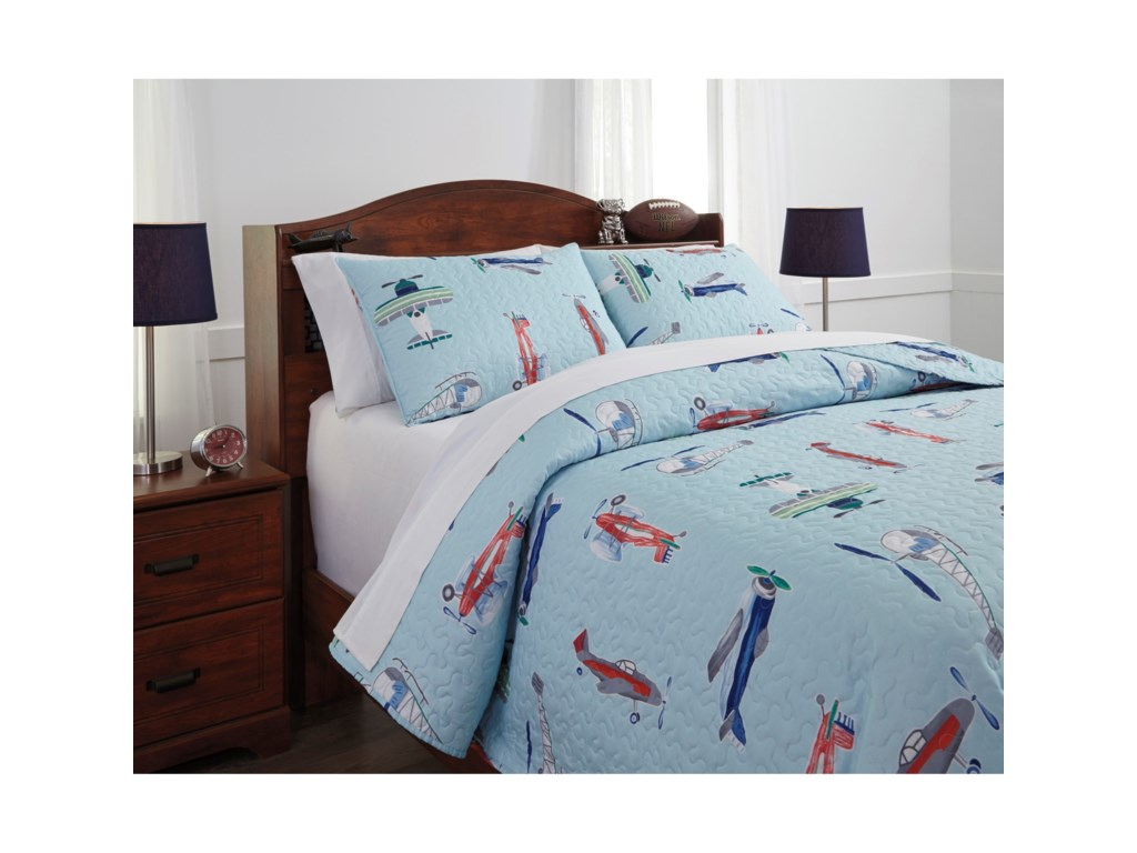 Signature Design by Ashley Bedding SetsFull McAllen Quilt Set