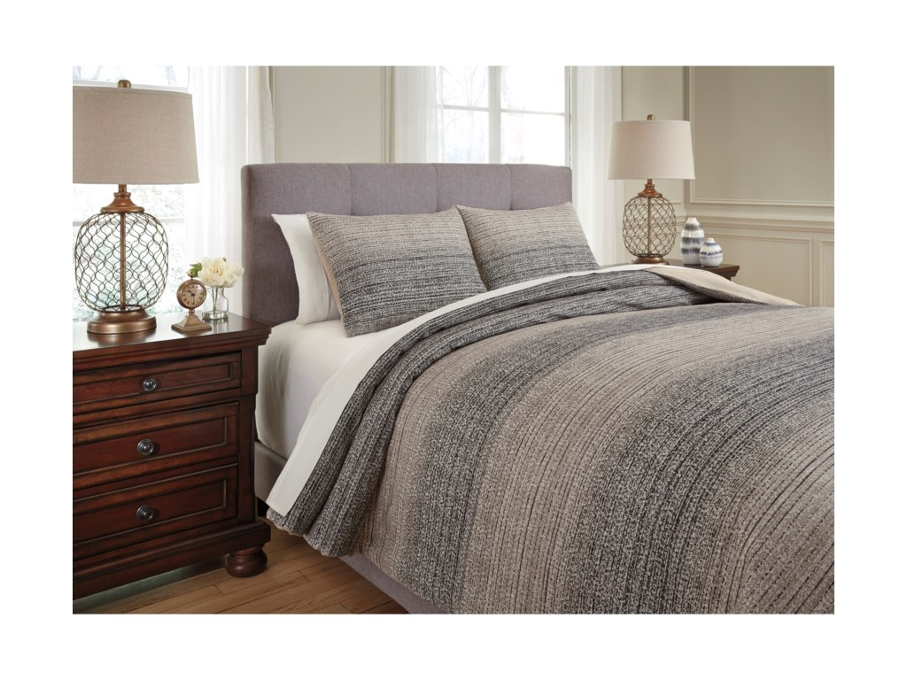 Signature Design by Ashley Bedding SetsQueen Arturo Duvet Cover Set
