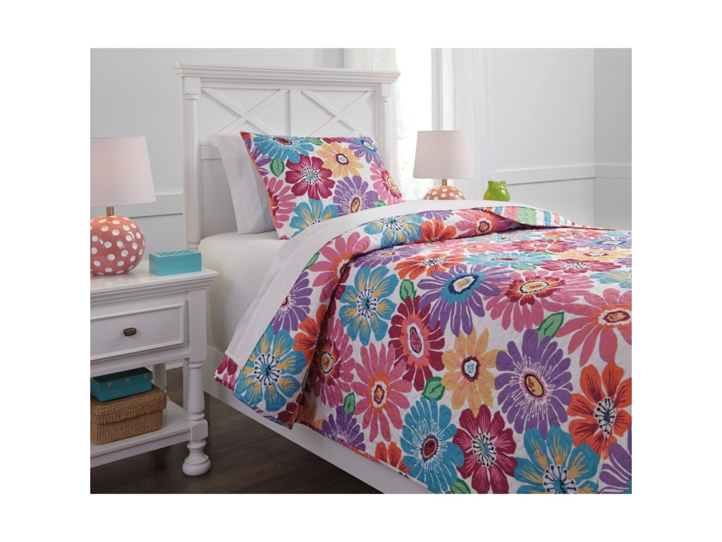 Signature Design by Ashley Bedding SetsTwin Alexei Quilt Set