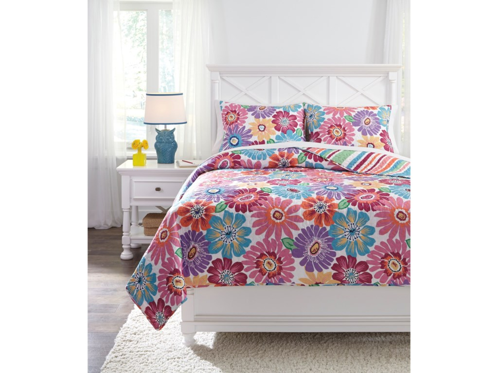 Ashley (Signature Design) Bedding SetsFull Alexei Quilt Set