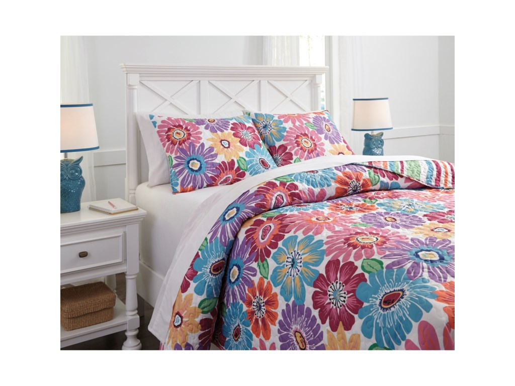 Signature Design by Ashley Bedding SetsFull Alexei Quilt Set