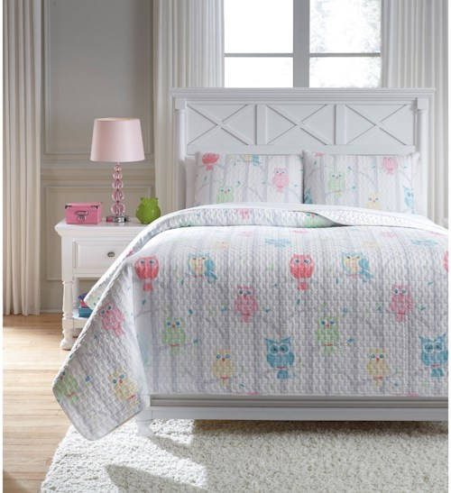 Signature Design by Ashley Bedding Sets Full Lucille Multi Coverlet Set