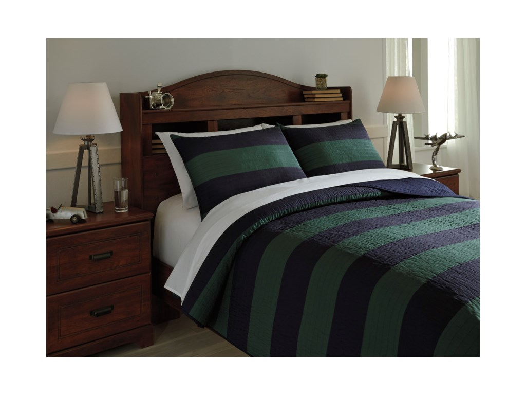 Signature Design by Ashley Bedding SetsFull Reggie Coverlet Set