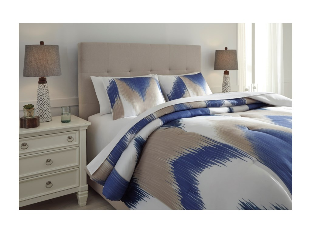 Signature Design by Ashley Bedding SetsQueen Mayda Comforter Set