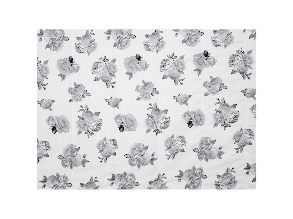 Signature Design by Ashley Bedding SetsTwin Meghdad Gray/White Comforter Set
