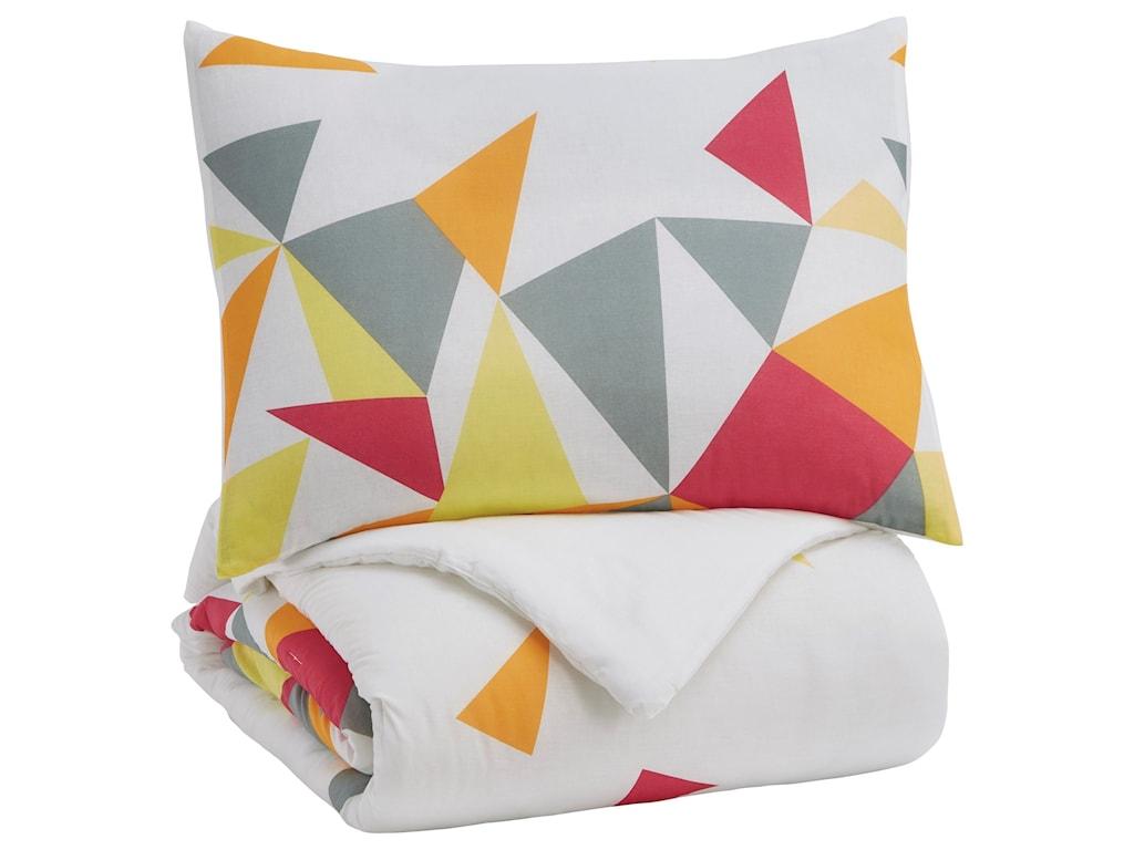 Signature Design by Ashley Bedding SetsTwin Maxie Multi Comforter Set