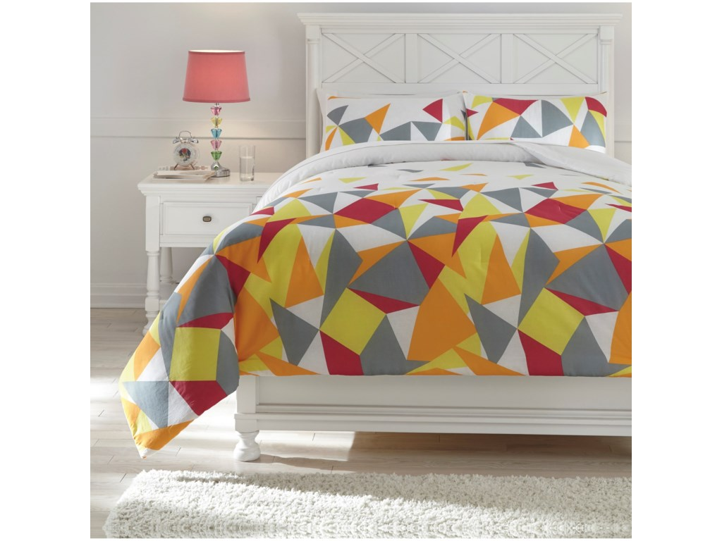 Signature Design by Ashley Bedding SetsFull Maxie Multi Comforter Set