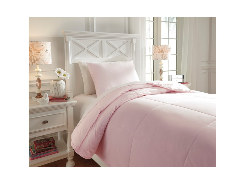 king products gray set pink lushdecor decor piece soft com comforter lush lucia pc
