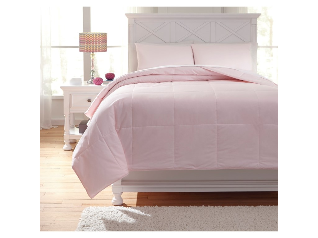 quality dsc alternative down oversized high pink beds pillow soft super top comforter save fits new