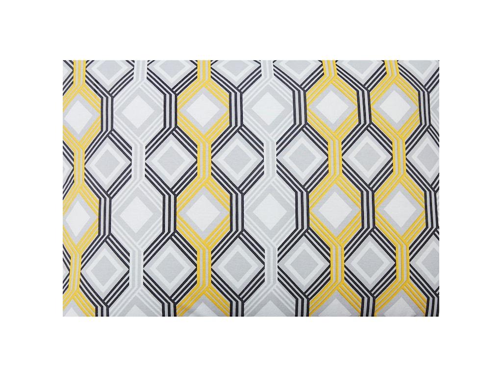 Signature Design by Ashley Bedding SetsKing Mato Gray/Yellow/White Comforter Set
