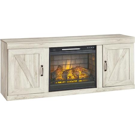 TV Stand w/ Fireplace Insert