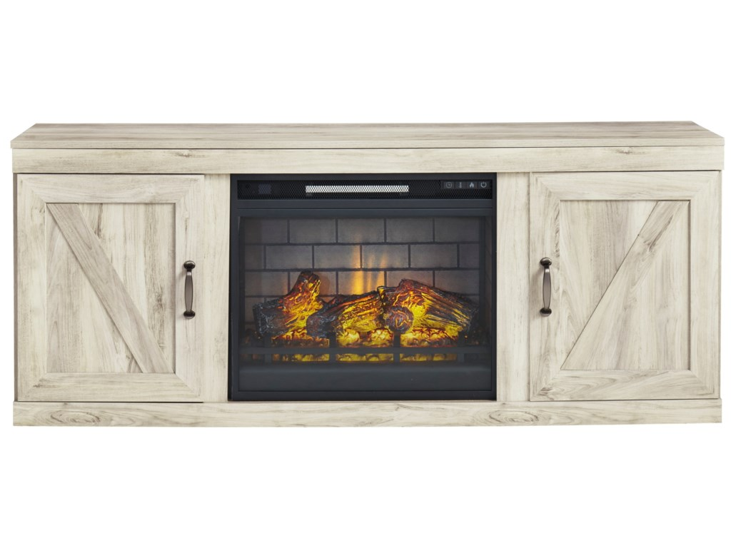 Signature Design by Ashley BellabyTV Stand w/ Fireplace Insert