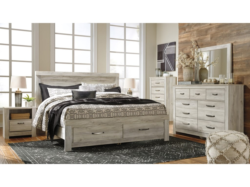 Ashley (Signature Design) BellabyKing Bedroom Group