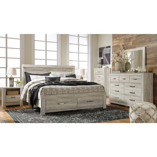 Signature Design by Ashley Bellaby King Bedroom Group