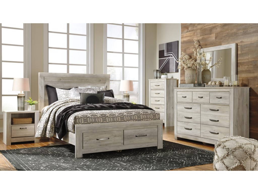 Signature Design by Ashley Bellaby Queen Bedroom Group | Royal ...