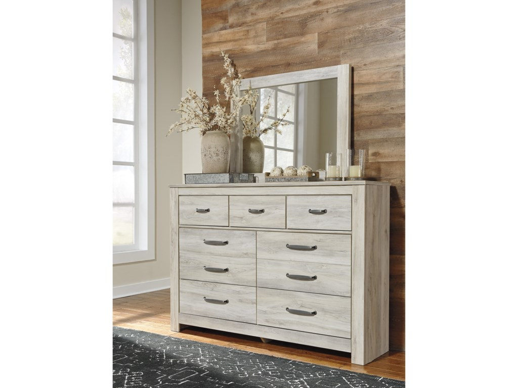 Ashley (Signature Design) BellabyDresser and Mirror Set