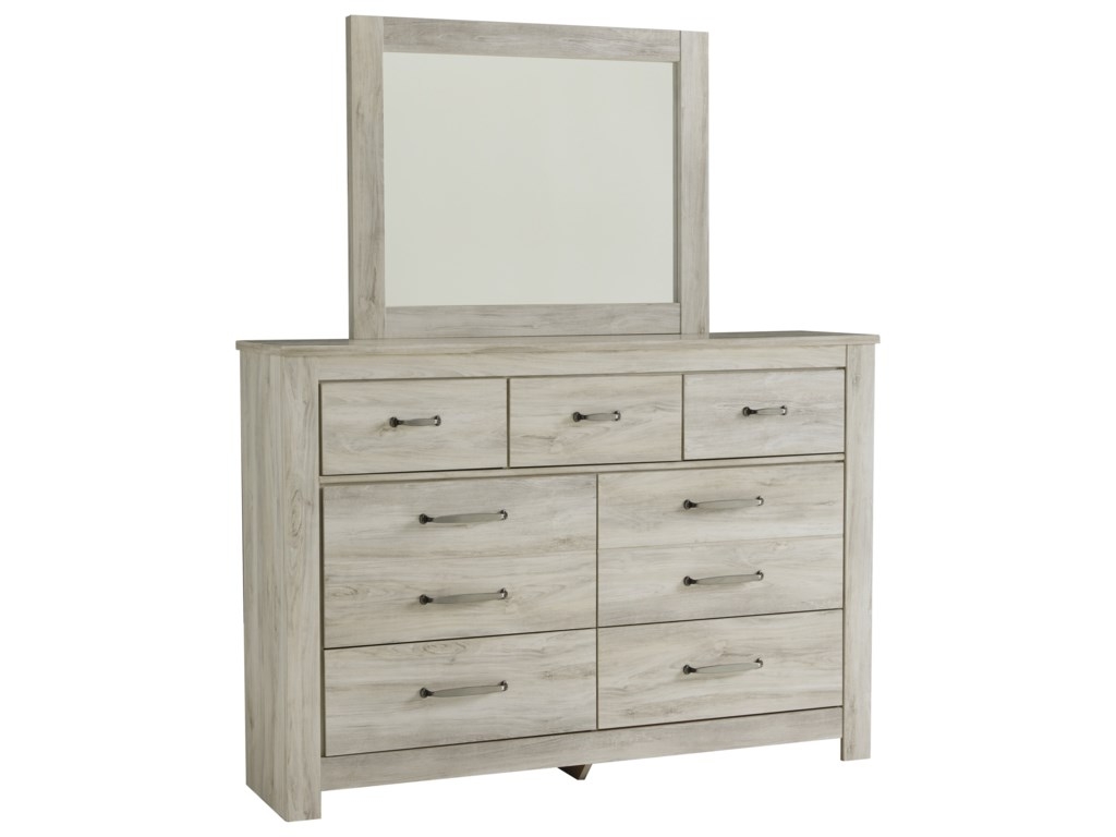 Signature Design by Ashley BellabyDresser and Mirror Set