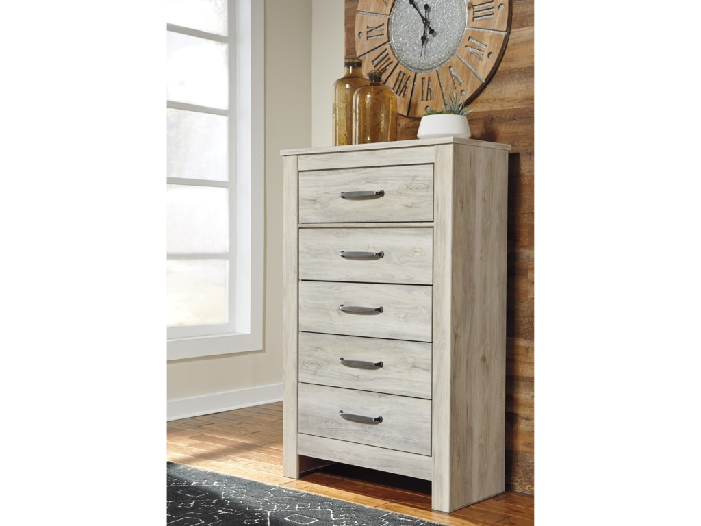 Signature Design by Ashley Bellaby5 Drawer Chest