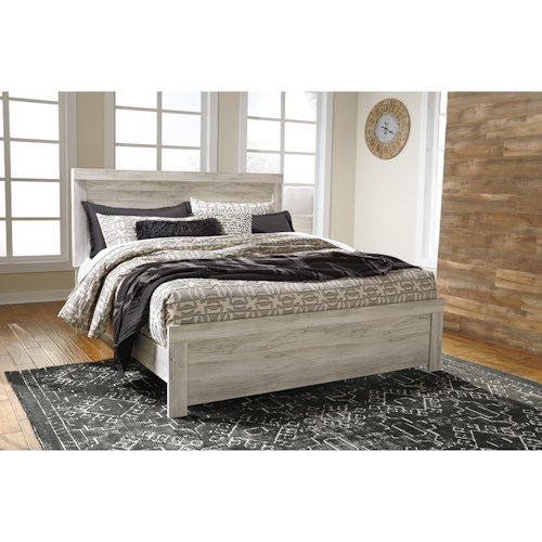 Signature Design by Ashley Bellaby Casual King Panel Bed