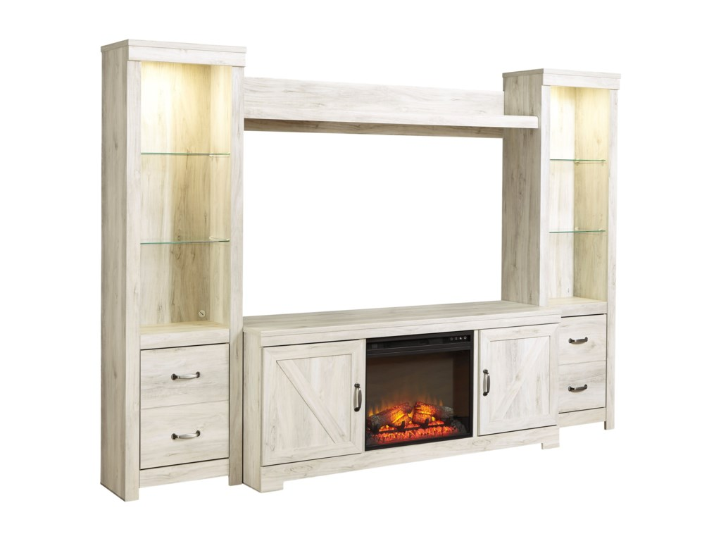 Ashley (Signature Design) BellabyWall Unit with Fireplace
