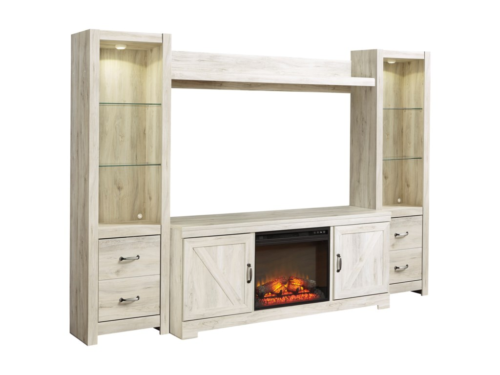 Signature Design by Ashley BellabyWall Unit with Fireplace