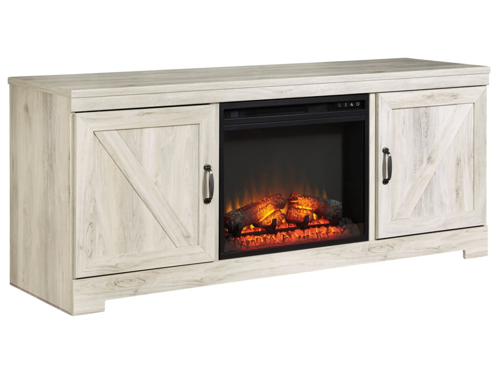 Signature Design by Ashley BellabyLarge TV Stand with Fireplace