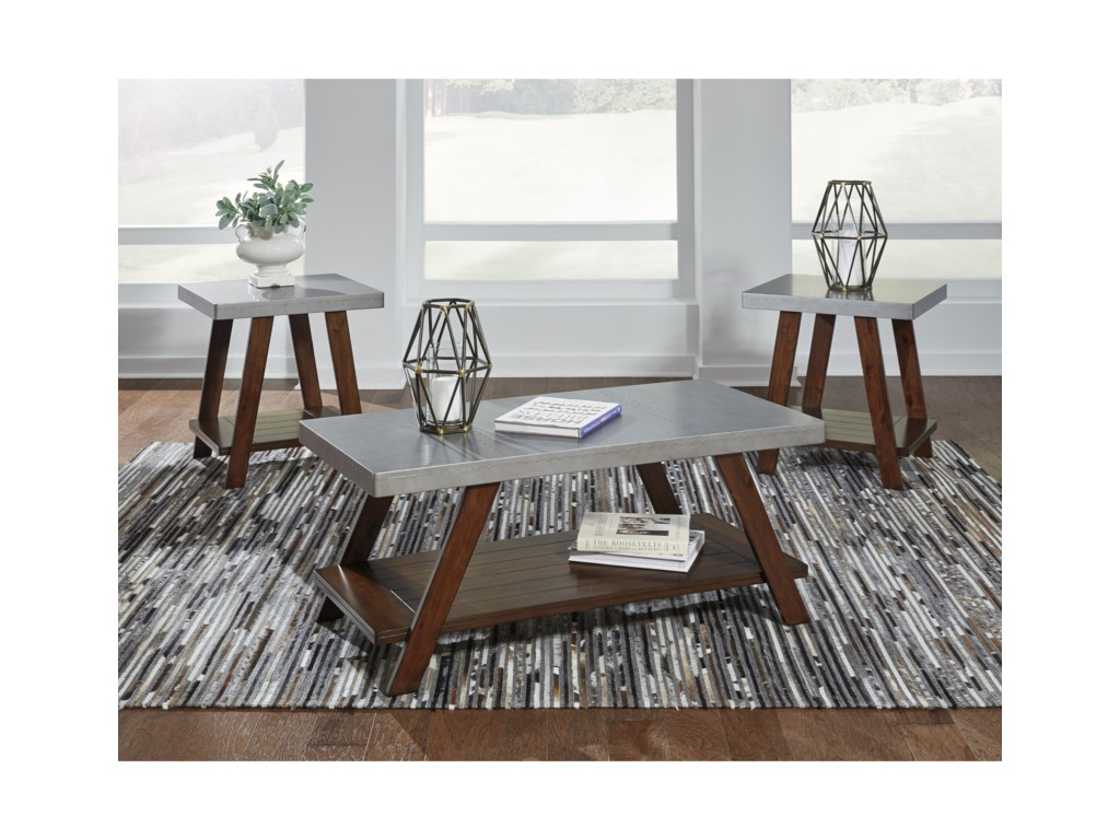 Signature Design by Ashley Bellenteen3-Piece Occasional Table Set
