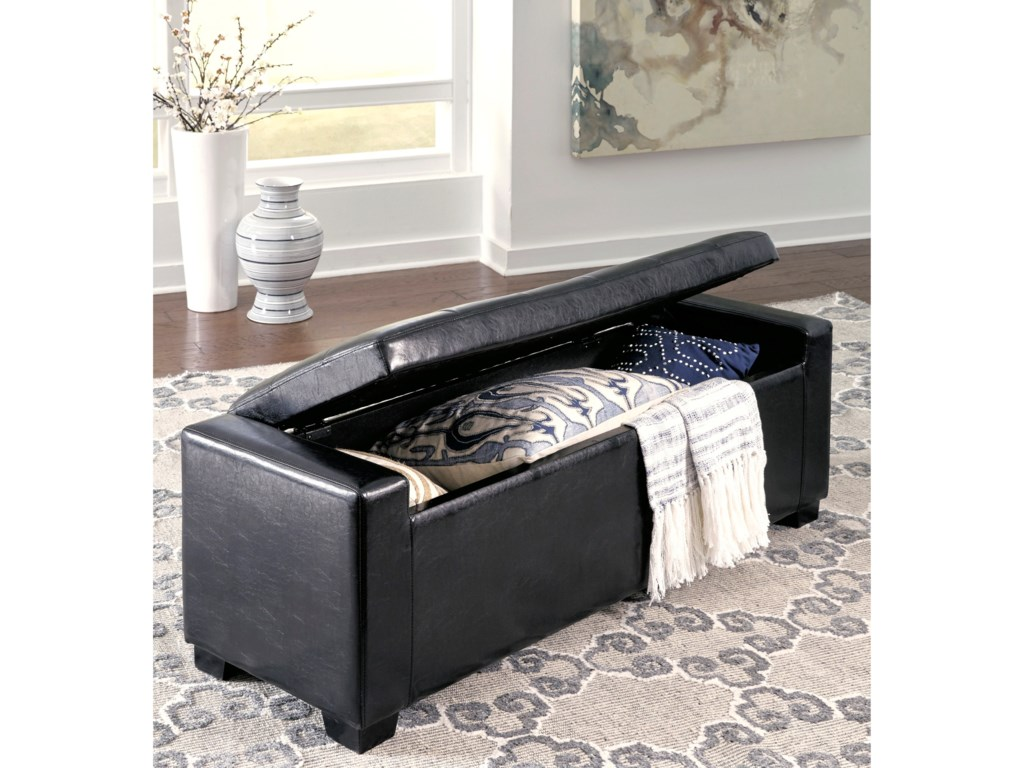Signature Design by Ashley SimpsonTufted Storage Bench
