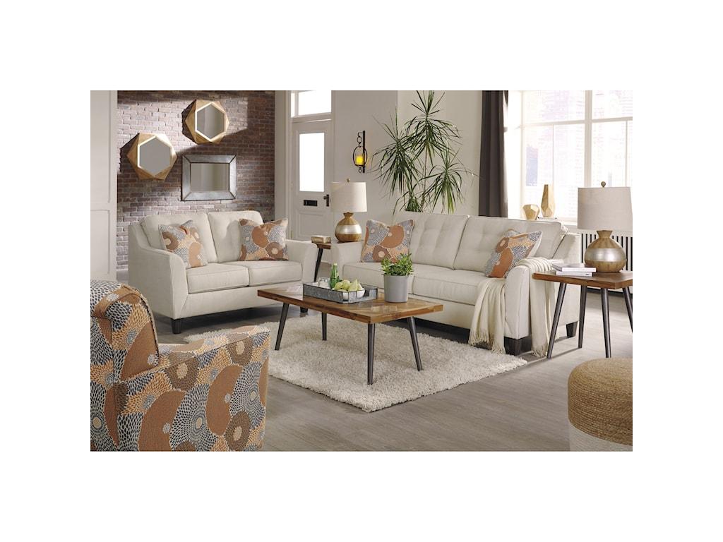 Signature Design by Ashley BenissaStationary Living Room Group