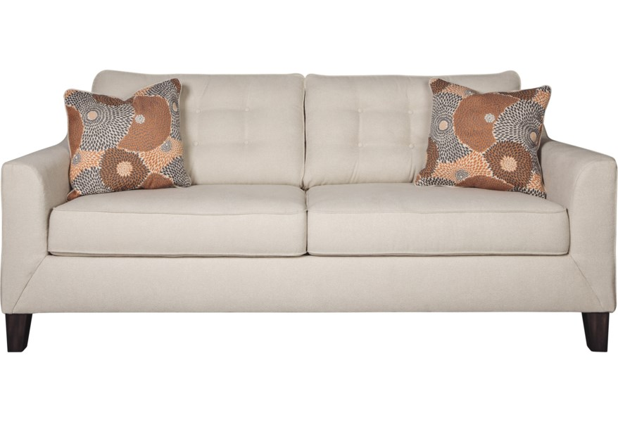 Benissa Contemporary Queen Sofa Sleeper by Signature Design by Ashley at  Sparks HomeStore