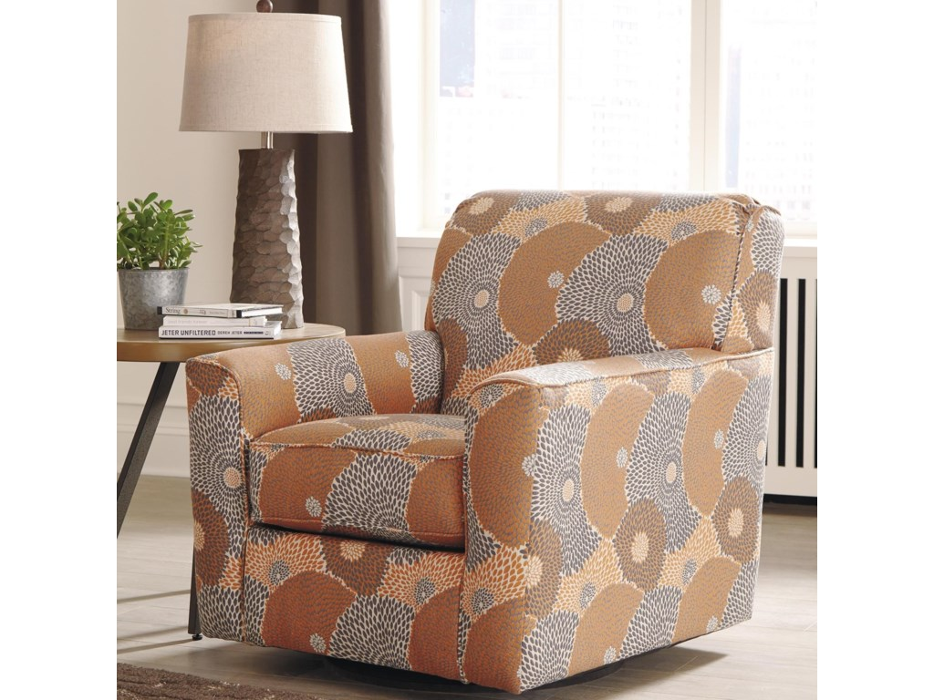 Signature BenissaSwivel Accent Chair