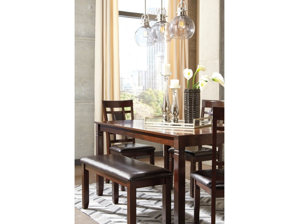 Signature Design by Ashley Bennox6-Piece Dining Room Table Set