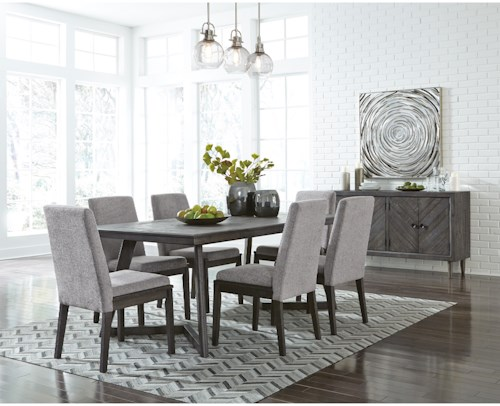 Signature Design By Ashley Besteneer Formal Dining Room Group