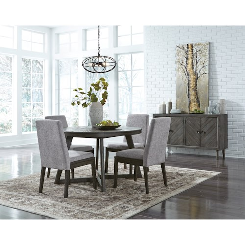 Signature Design by Ashley Besteneer Casual Dining Room Group