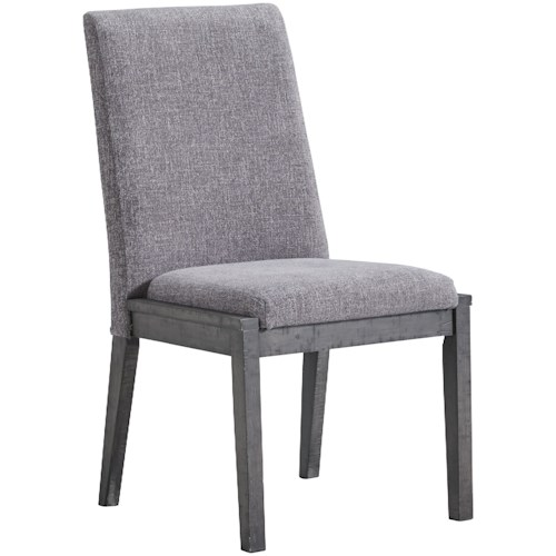 Signature Design by Ashley Besteneer Contemporary Upholstered Dining Chair