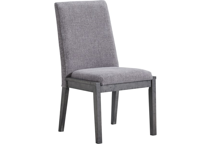 Signature Design By Ashley Besteneer D568 01 Contemporary Upholstered Dining Chair Catalog Outlet Dining Side Chairs