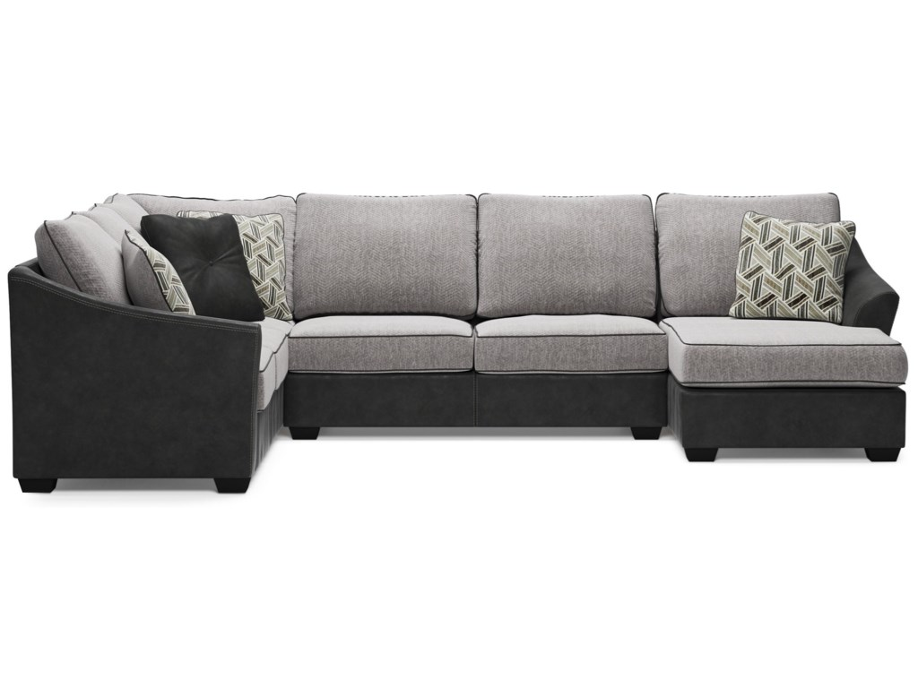 Signature Design by Ashley BilgraySectional with Right Chaise