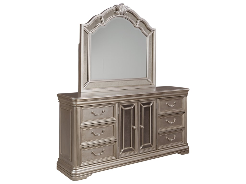 Ashley (Signature Design) BirlannyDresser & Bedroom Mirror
