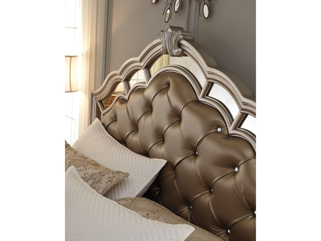 Signature Design by Ashley BirlannyQueen Upholstered Bed