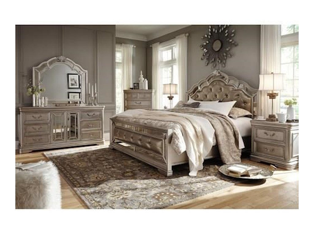 Signature Design by Ashley BirlannyQueen Bedroom Group