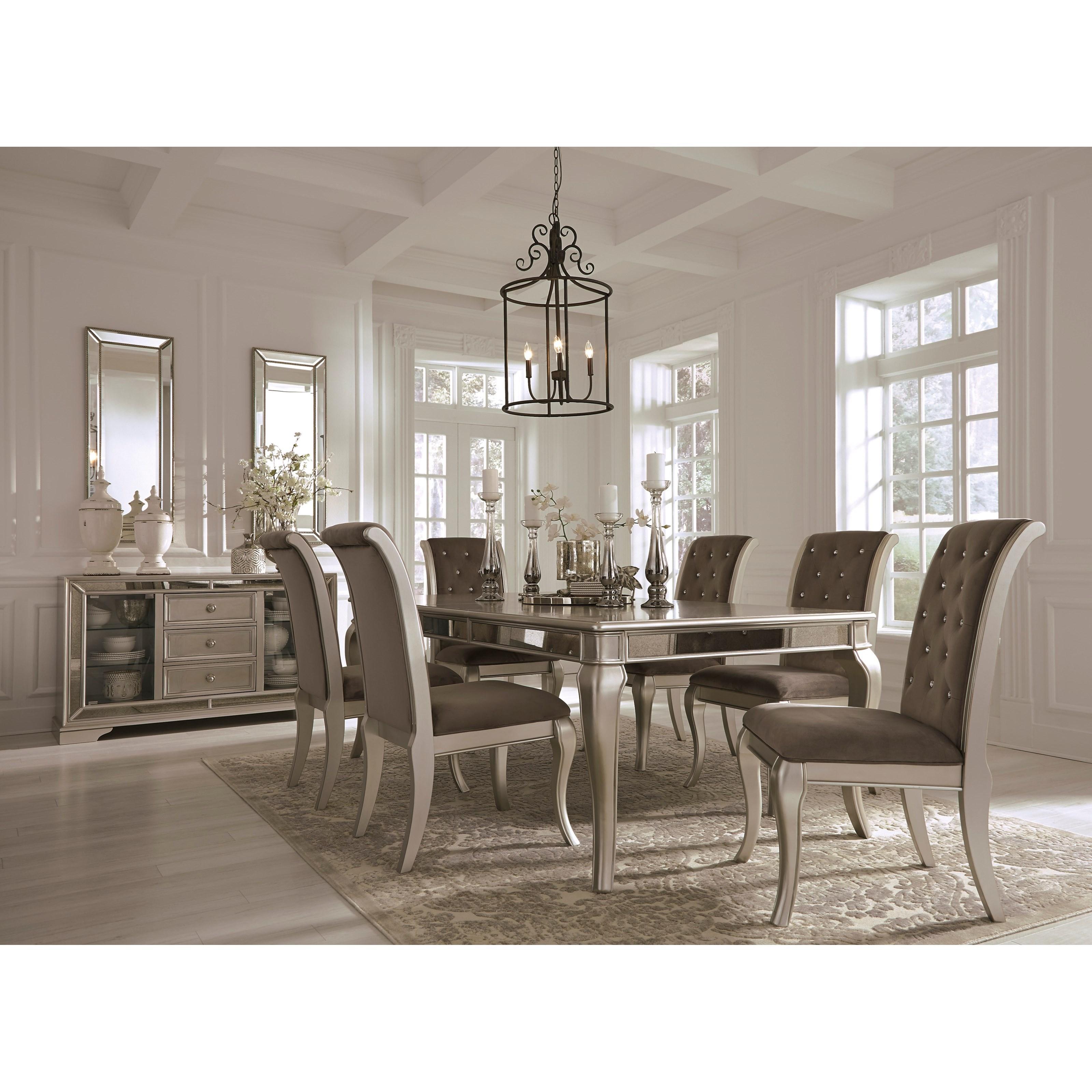Beau Ashley Signature Design Birlanny Formal Dining Room Group