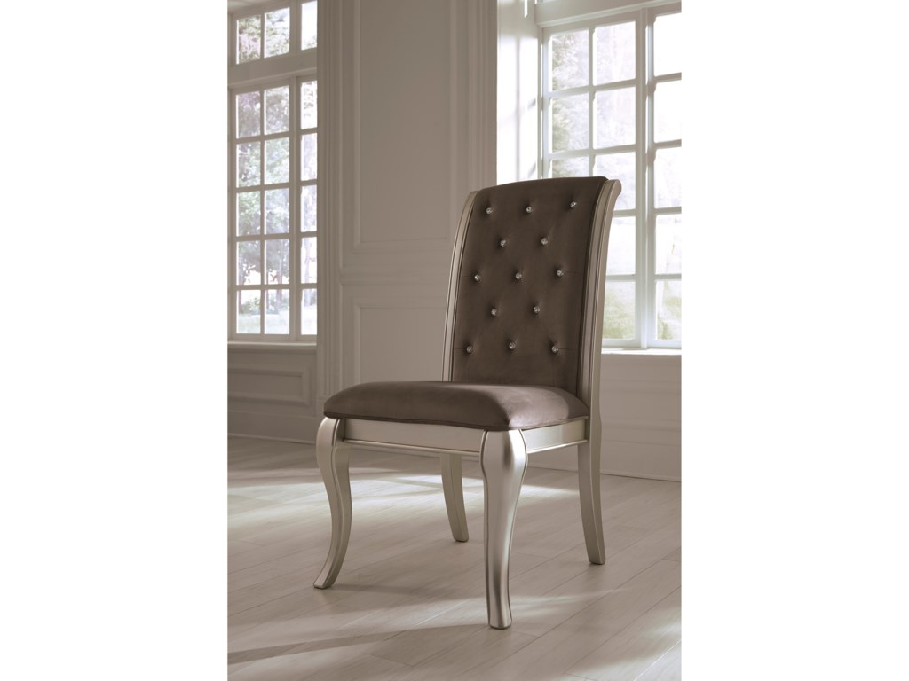 Ashley (Signature Design) BirlannyDining Upholstered Side Chair