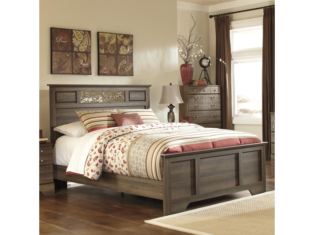 Ashley (Signature Design) AllymoreQueen Panel Bed