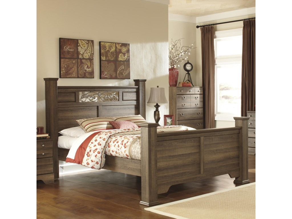Ashley (Signature Design) AllymoreQueen Poster Bed