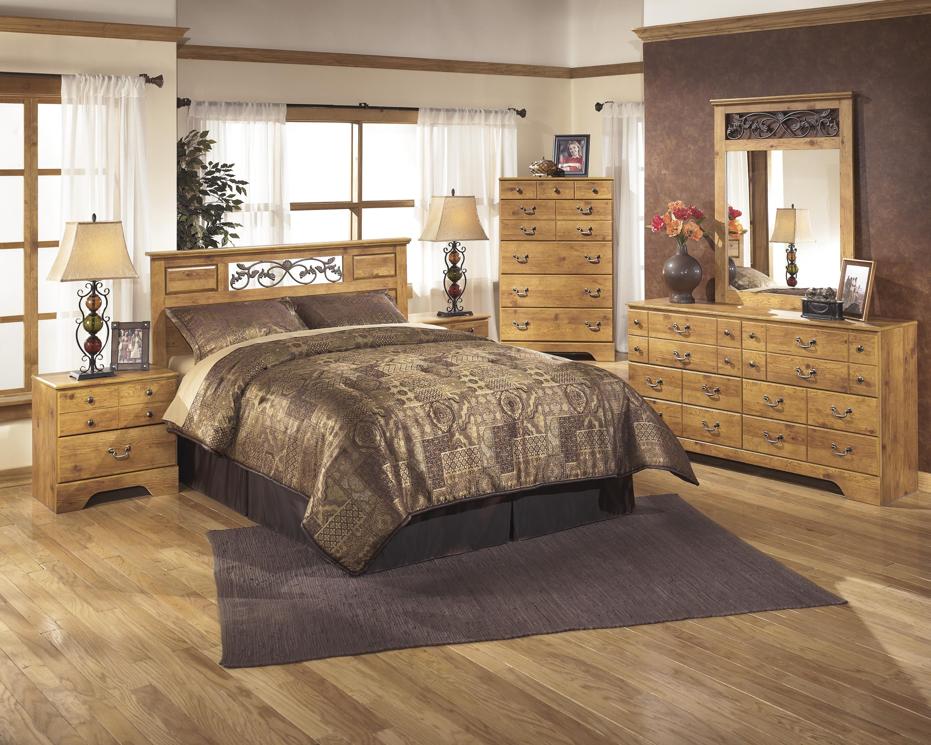 Signature Design by Ashley Bittersweet Full/Queen Bedroom Group - Furniture Fair - North ...