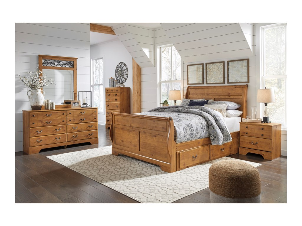 Ashley (Signature Design) BittersweetKing Bedroom Group