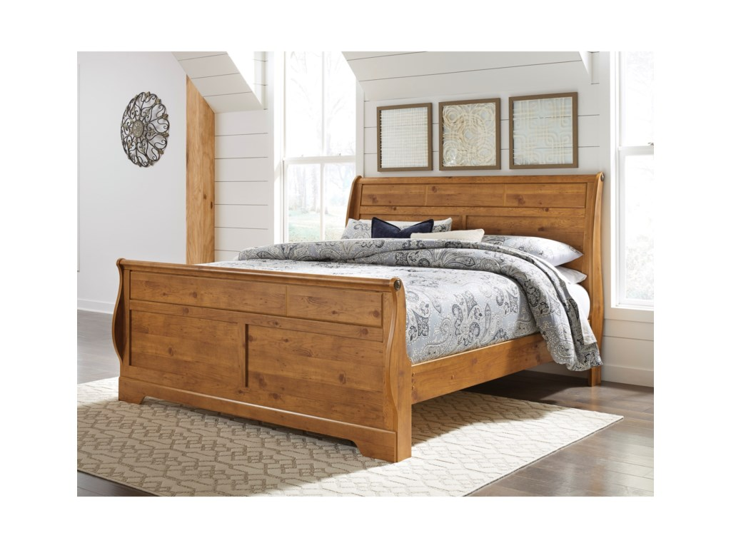 Signature Design by Ashley BittersweetKing Sleigh Bed