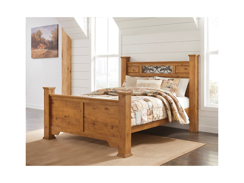 Signature Design by Ashley BittersweetQueen Poster Bed