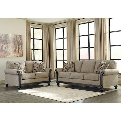 Signature Design by Ashley Blackwood Stationary Living Room Group